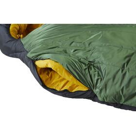 Nordisk Gormsson -10° Mummy Sacco a pelo L, artichoke green/mustard yellow/black